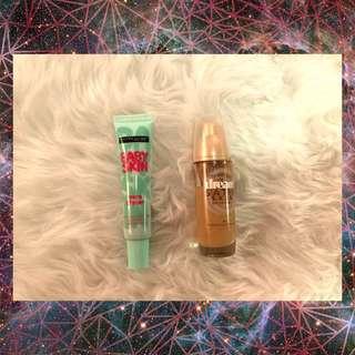 Bundle 2!! Maybelline Baby Skin Pore Eraser and Dream Satin Skin Foundation