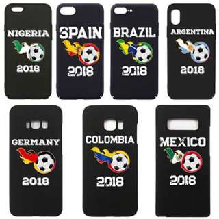 PREORDER World Cup 2018 Country Phone Case⚽️🏆