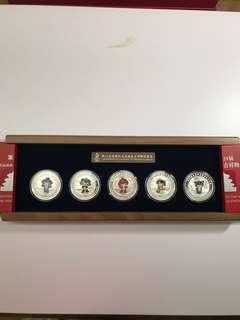 北京奧運吉祥物紀念章