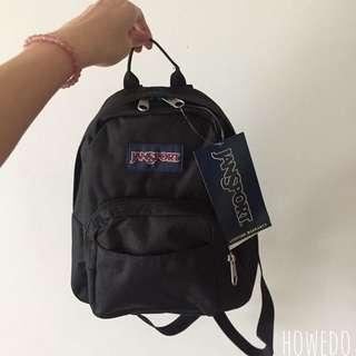 Jansport Mini Backpack Black