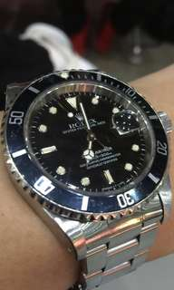 Rolex Submariner  16610 (Warranty paper dated 1992)