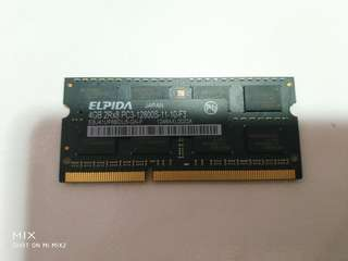 Macbook compatible 4gb DDR3 ram