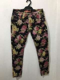 Pre-loved floral pants
