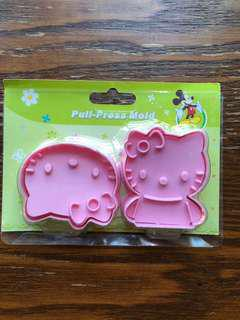 Hello kitty Cookie cutters