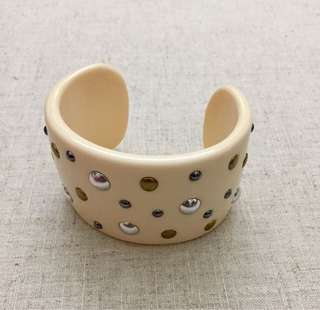 Forever 21 Studded Cuff Bangle