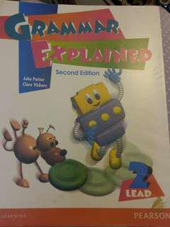 Answer Key only Grammar Explained 2 second edition