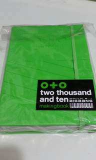 絕版 O+O BIGBANG Big Show two thousand and ten making book Gdragon Taeyang Top Daesung Seungri