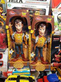 Authentic woody toy story