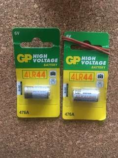 Battery 4LR44 - 2 pieces