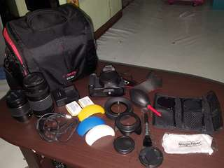 Canon T3i (all in)