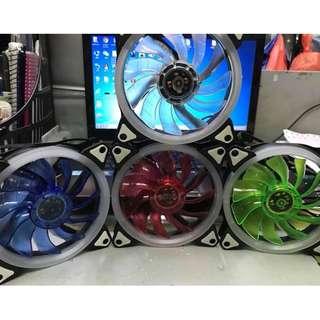 Kingbao LED Ring 120mm Case Fan