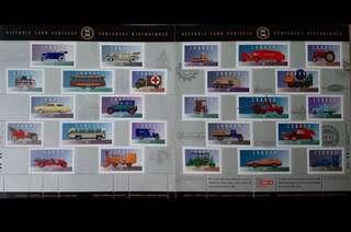 汽車郵票版票