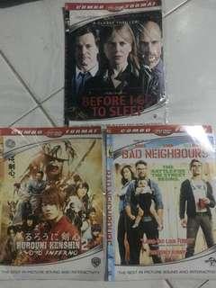 Dvd combo format