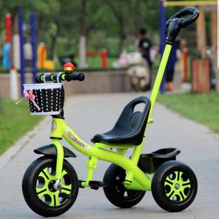 Instock Kids Tricycle / kid stroller / kid bike A