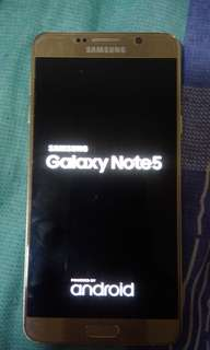 Samsung   note5. 32gb 雙咭港版