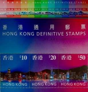 香港通用郵票1997小全張(共兩張)票面85折