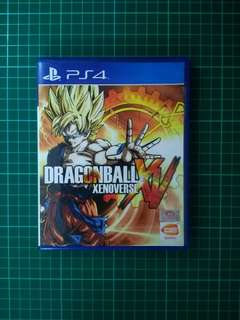 PS4 Game- Dragon Ball Xenoverse XV