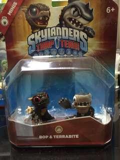 Skylanders Trap Team Minis Bop And Terrabite