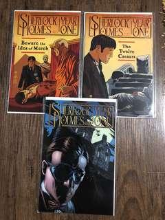 Sherlock Holmes Year One #1-3