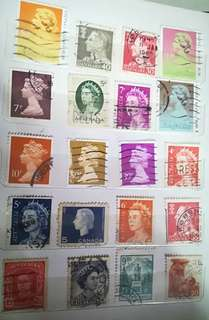 Stamps 1pcs