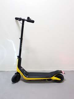 Yellow JD Bug Fun Series Electric Scooter