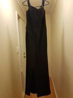 Seduce black formal dress