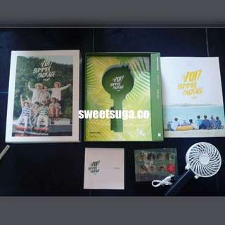 BTS SUMMER PACKAGE 2017 WITH SELFIE BOOK