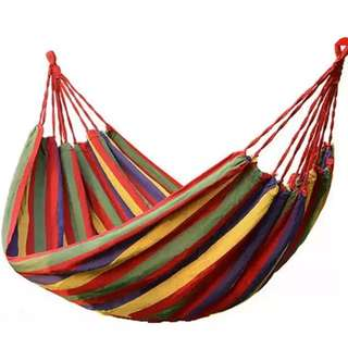 Portable Cotton Rope Hammock or Duyan