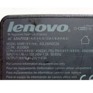 Original Lenovo 90W AC Adapter