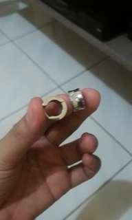 silverworks stainless earring.. 180 free shipping metro manila