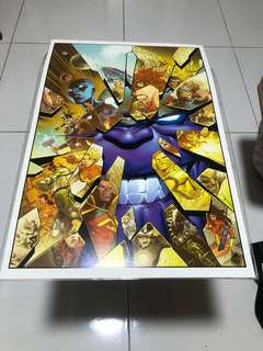 Jimmy Cheung SIGNED Avengers Marvel Thanos Infinity Art Print