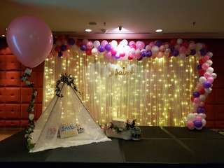 [Rental] Customised Balloon Backdrop