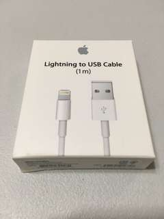 Apple Lightning to USB Cable 充電線