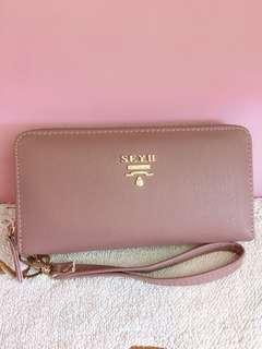 🚚 紫色錢包/長夾/手機包