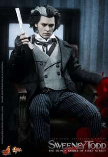 *MISB* Hot Toys 1/6 Sweeney Todd Collectible Figure
