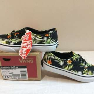 100% Authentic Vans Summer Palms Sneakers