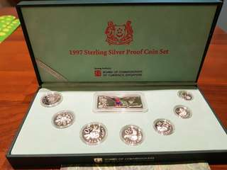 1997 Steering Silver Proof Coin Set