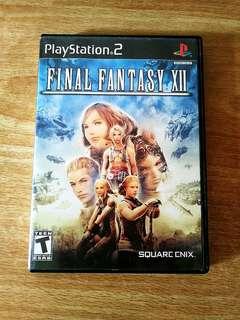 Ps2 Final Fantasy 12
