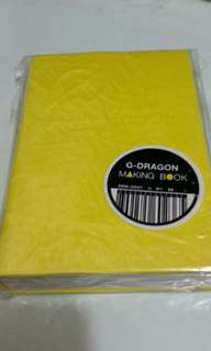 BIGBANG GDRAGON 2010 SHINE A LIGHT CONCERT MAKING BOOK