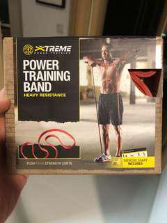 Cross training power band - heavy resistance (new)