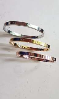 Cartier Inspired 3in1 bangles