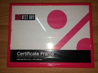 Brand New Certificate / Diploma Frame