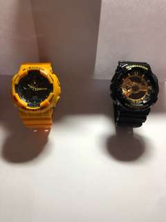 🚚 手錶 男錶 玩具錶。Casio g-shock baby-g 卡西歐手錶 手錶 玩具錶