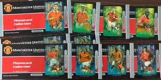 Manchester United 1998/99 Limited Edition Phonecard Collections