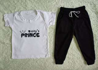 T shirt and Pants for little boy