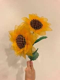 Handmade Flowers (Sunflowers)