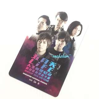 *New* [Limited Edition] 2018 Mayday 五月天 Ezlink/ Ez Link Card Life Tour Singapore