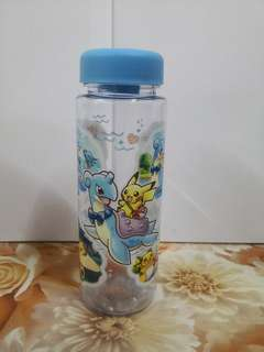 Pokemon Center Japan Pikachu Riding with Lapras Water Bottle