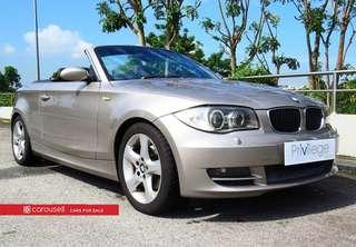 BMW 1 Series 120i Cabriolet