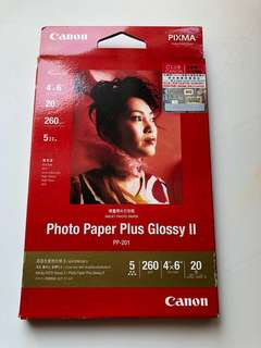 "New Canon Glossy Photo Paper 4""x6"""